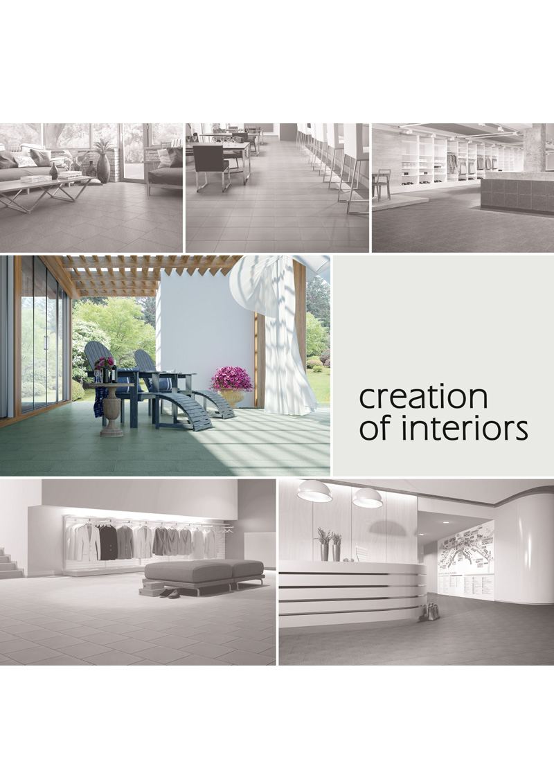 Каталог «Creation of interiors»