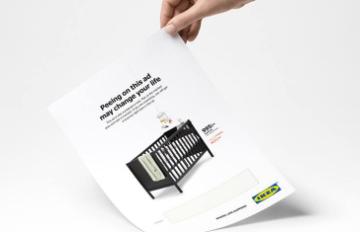 ІКЕА створила дивовижну друковану рекламу