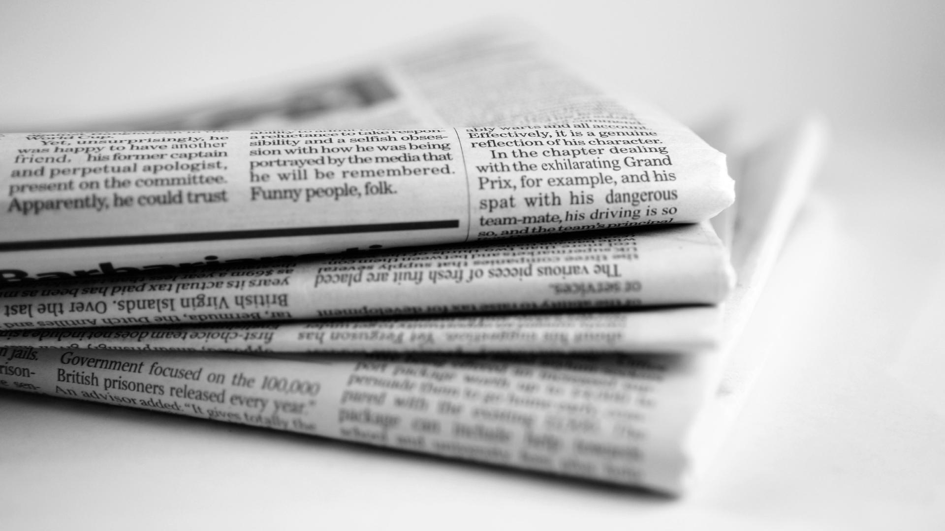 Як до нашого виробництва «Український газетний синдикат» завітало ТБ