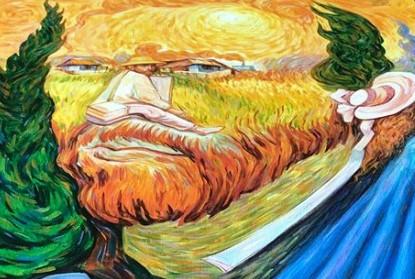 Календарь з картинами живого класика - художника Олега Шупляка