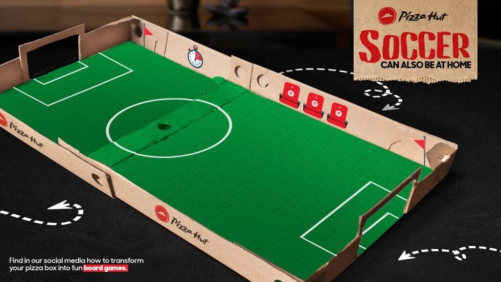 Креативне пакування від Pizza Hut
