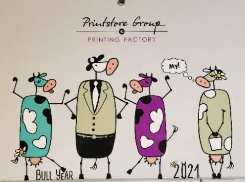 Календар на 2021-й від PRINTSTORE GROUP