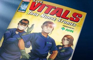 Marvel об'єднався з некомерційною організацією і створив новий комікс про медпрацівників